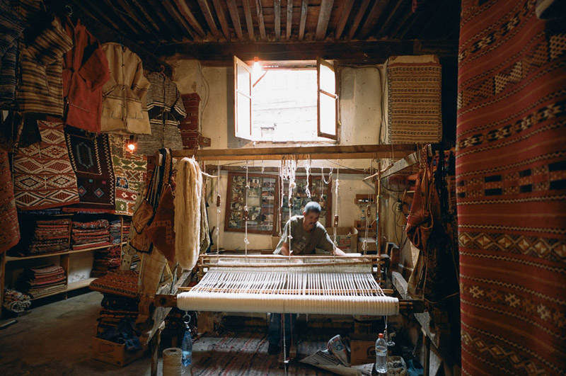 Traditional Weaving in Morocco, Fes, Fez, Shopping in Morocco