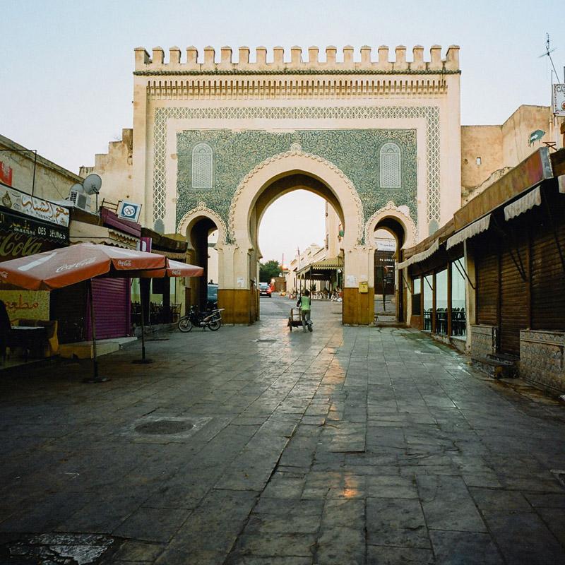 Bab Bou Jeloud, Fes, Gates of Fes, Fez