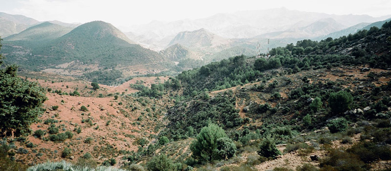 High Atlas Mountains, Morocco Landscape