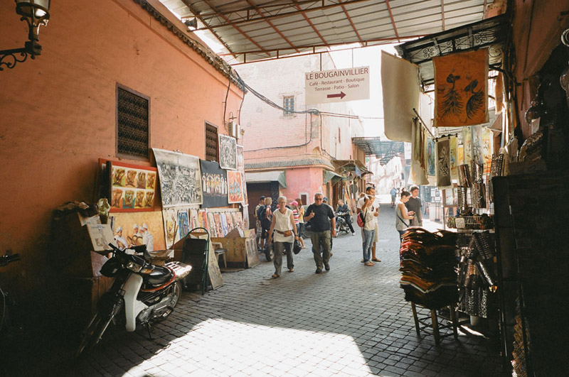 Marrakesh, Marrakesh, Shopping in Morocco
