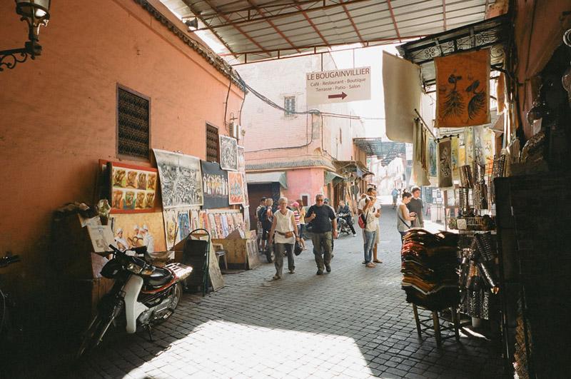 Marrakesh, Marrakesh, Shopping in Morocco