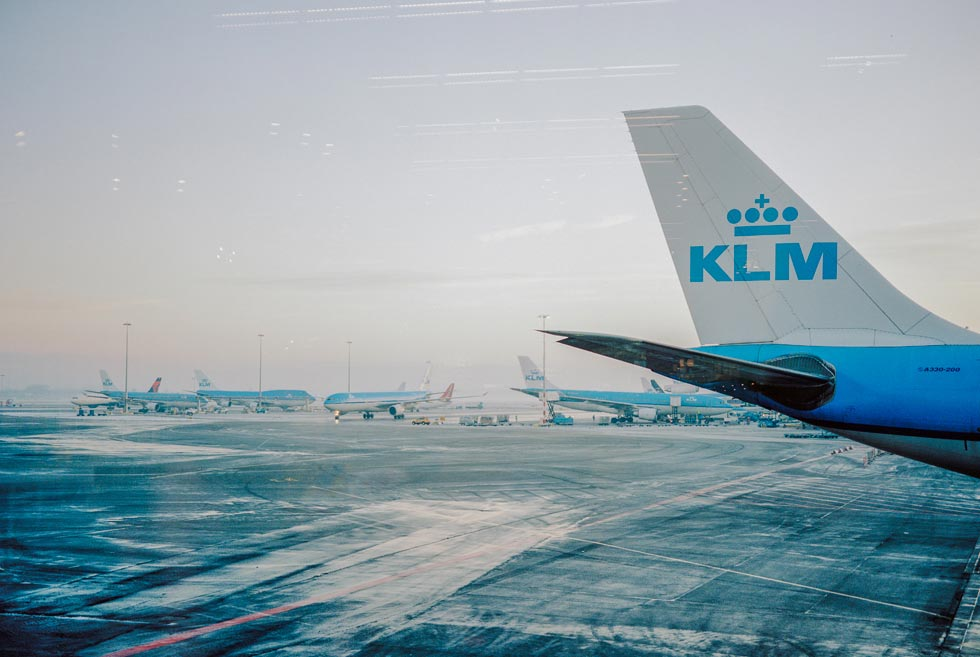 KLM Airplane, Schiphol Airport