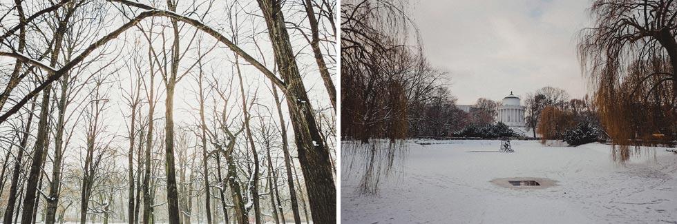 Warsaw in Winter