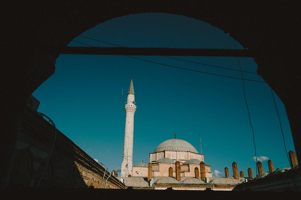 Mosque in Izmir Turkey