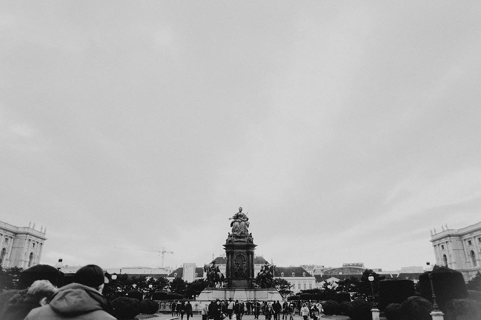 Statues in Vienna