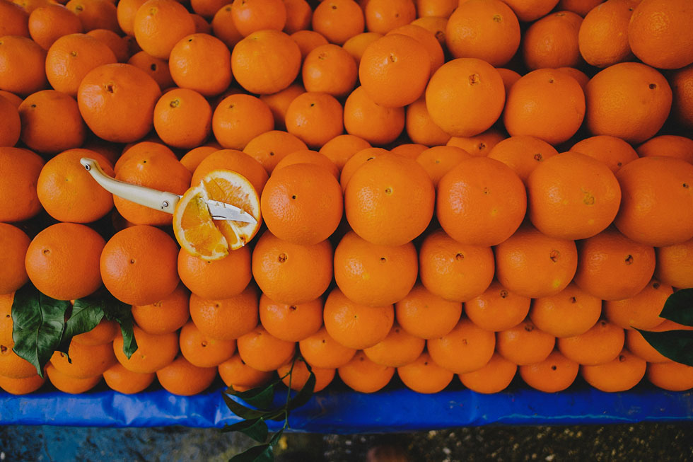 Oranges in Turkey