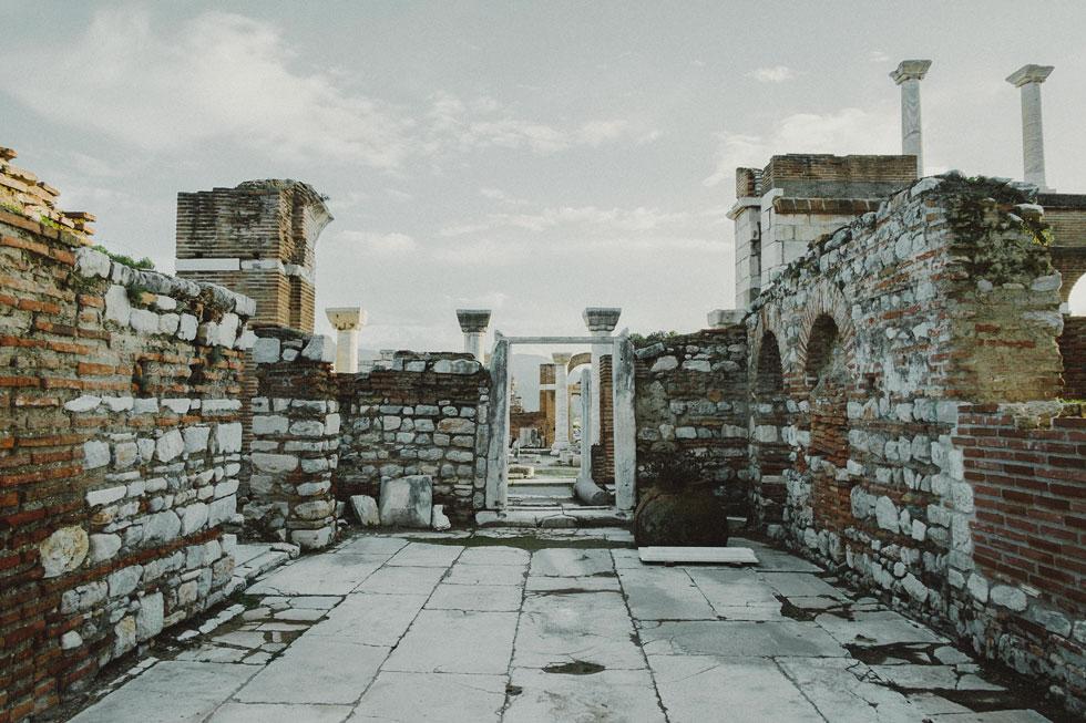 Turkish Ruins, Ottoman Turkey