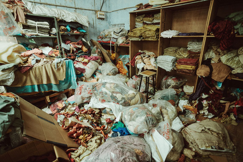 Textiles in Jaipur India