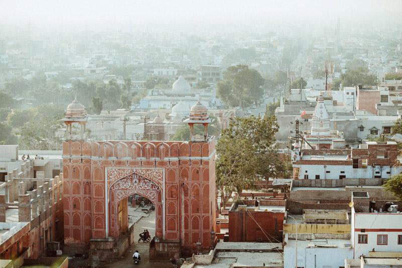 Red Gate in Jaipur