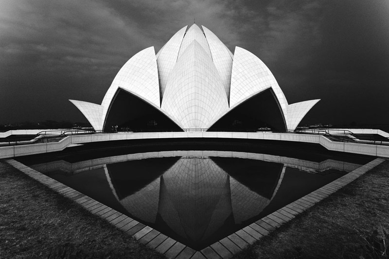 Lotus Temple In New Delhi Photographer Tomasz Wagner