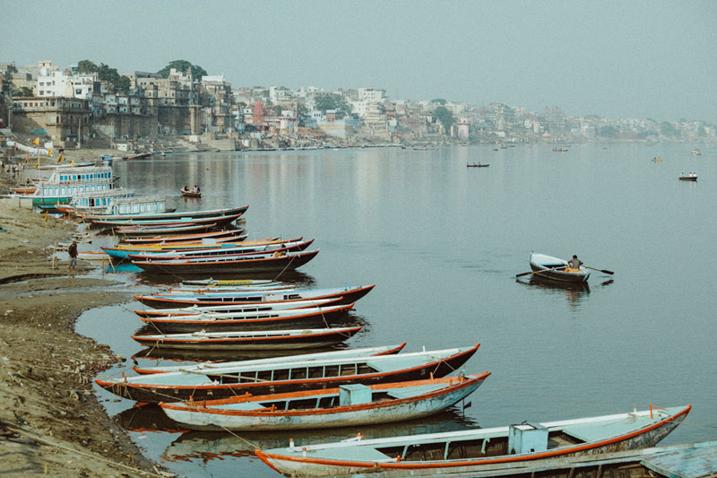 Boats of Varanasi