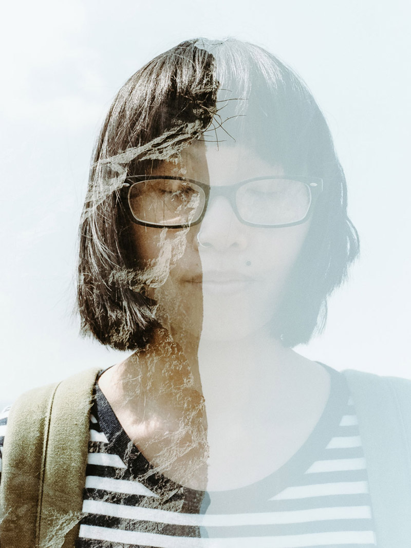 Tomasz Wagner, Double Exposure Photography, Contax G2, Portra 160, Film Photographer in Japan, Akiyoshidai