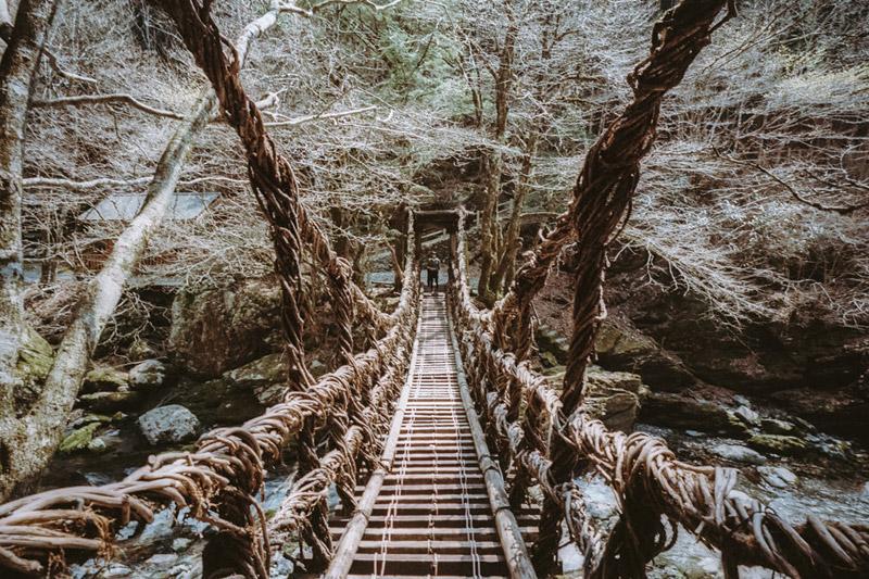Tomasz Wagner, Iya Valley, Shikoku, Tokushima Prefecture, Roadtrips in Japan, Oku-Iya Kazurabashi Bridges