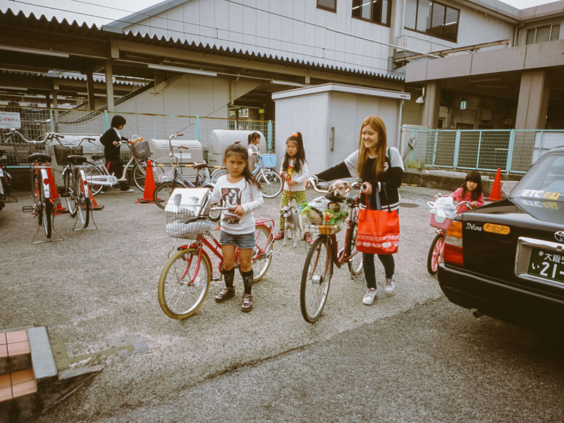 People in Shikoku, Tomasz Wagner, Contax G2, Japan 35mm Film Photography