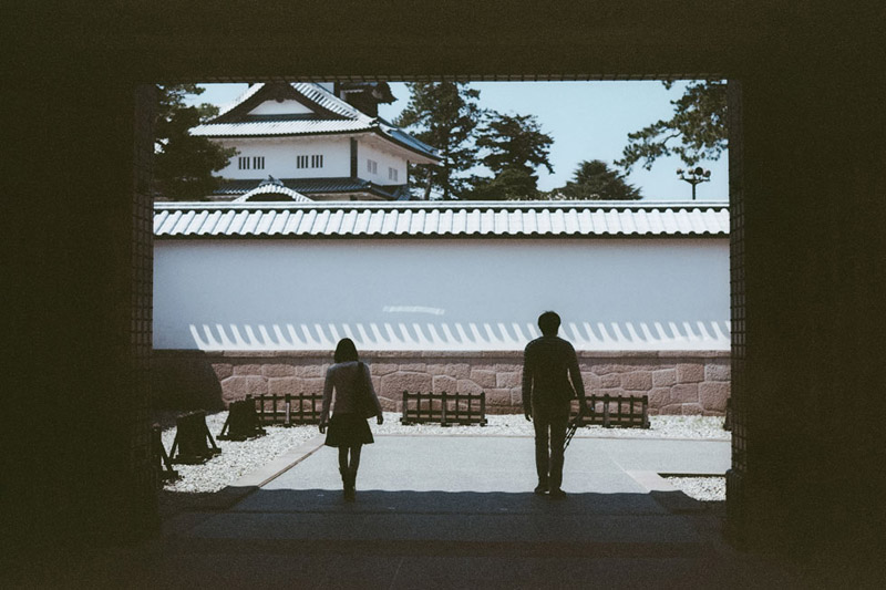 Kanazawa Castle, Tomasz Wagner, Castles in Japan, Contax G2, Japan 35mm Film Photography