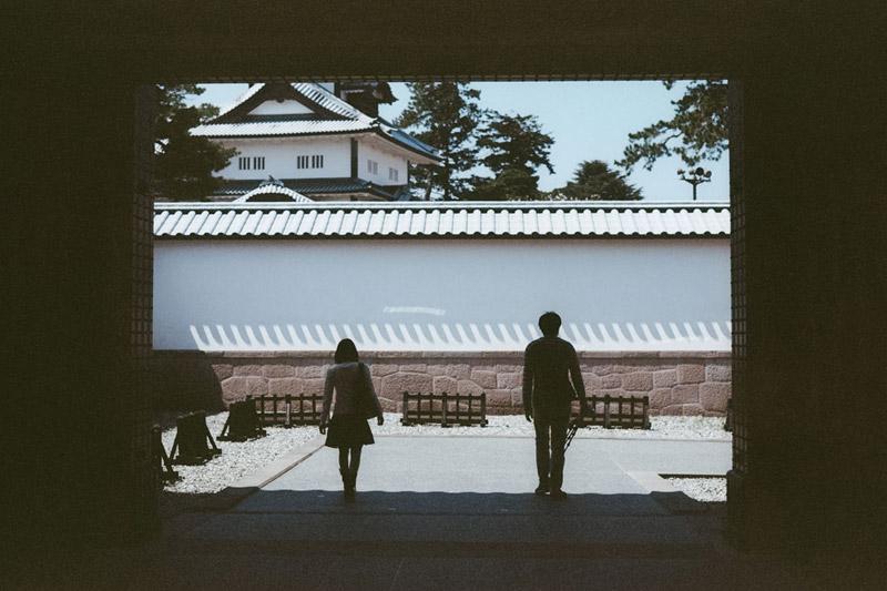 Kanazawa Castle, Tomasz Wagner, Castles in Japan, Contax G2, Japan 35mm Film Photography
