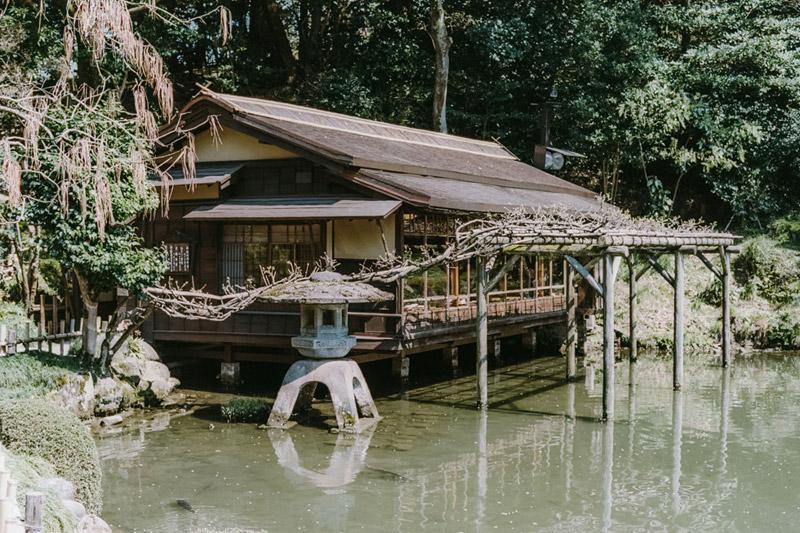 Beautiful Gardens in Japan, Tomasz Wagner, Kenrokuen Garden, Kanazawa, Contax G2, Japan 35mm Film Photography