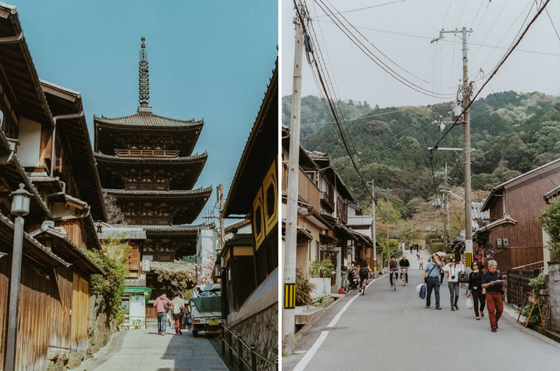 Kyoto on Film, Tomasz Wagner, Buddhist Temples in Japan, Contax G2, Japan 35mm Film Photography
