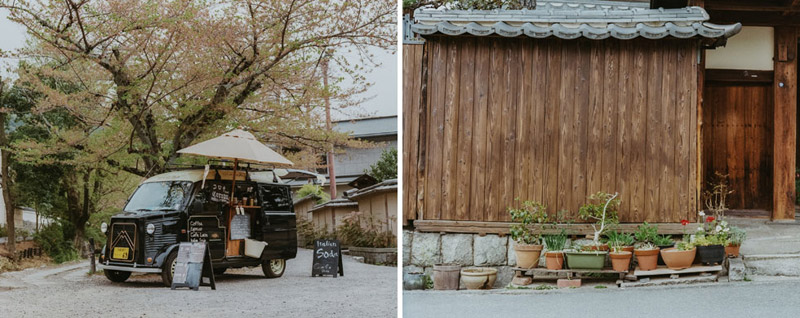 Mobile Coffee Shop, Tomasz Wagner, Kyoto, Contax G2, Japan 35mm Film Photography