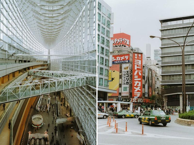 Tokyo International Forum, Tomasz Wagner, Tokyo Architecture, Contax G2, Japan 35mm Film Photography