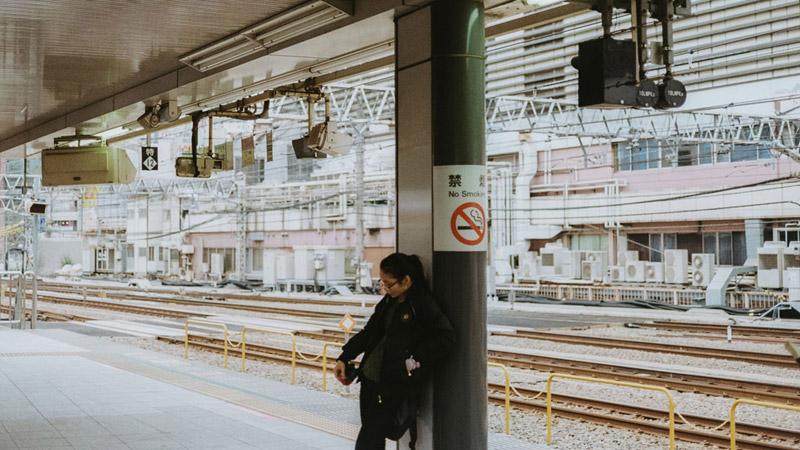 Tokyo Transportation, Tomasz Wagner, Contax G2, Japan 35mm Film Photography