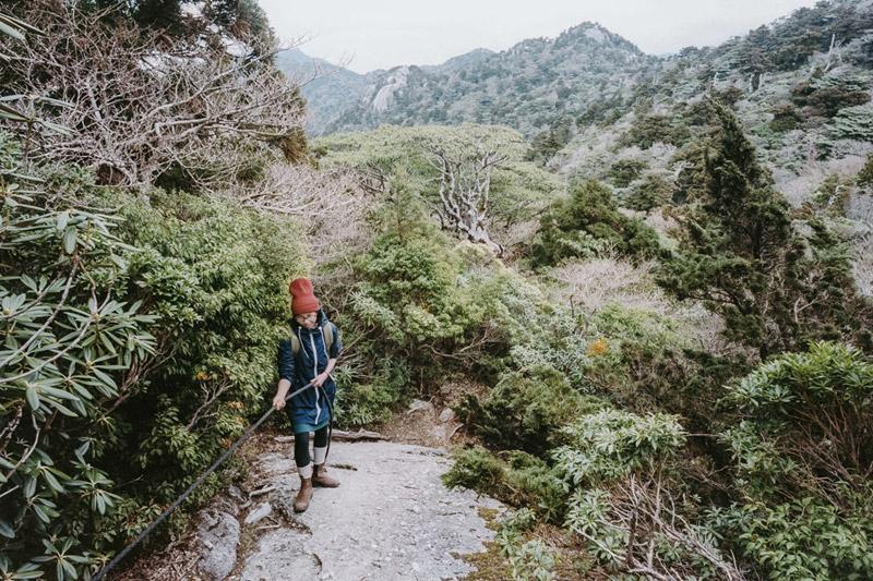 Approaching Mount Kuromi Dake, Yodogawa Trail, Tomasz Wagner