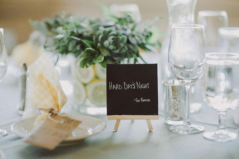 Wedding Signage Stationery Ideas