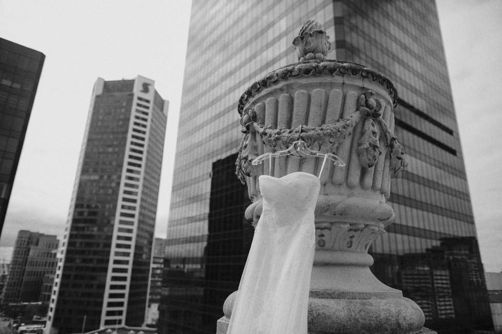 Wedding Dress at Hotel Georgia