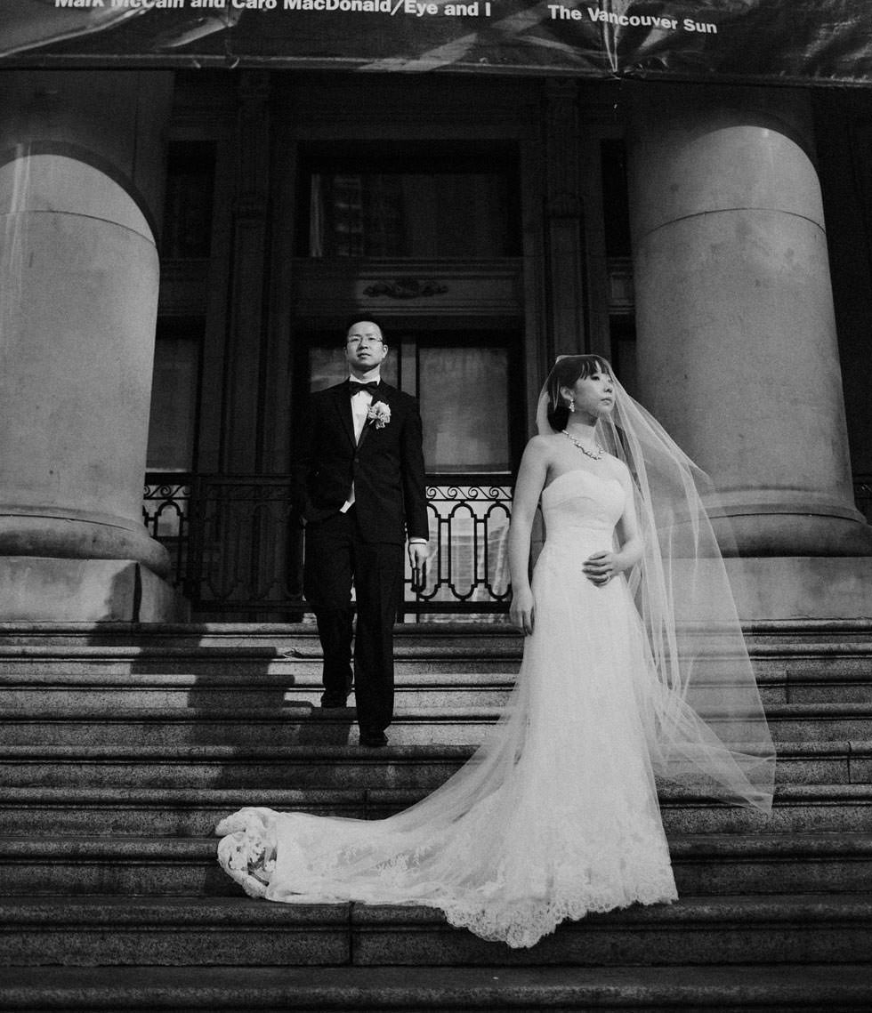 Vancouver Art Gallery Wedding Photography