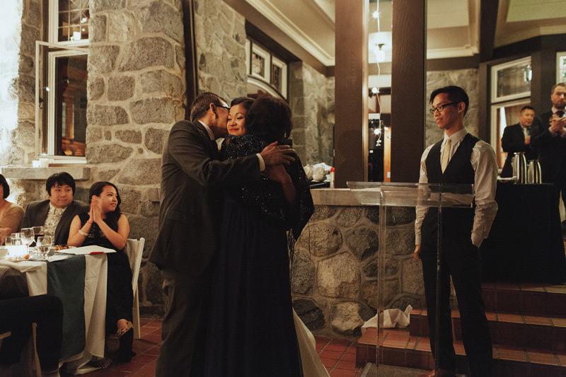wedding receptions at cecil green park ubc