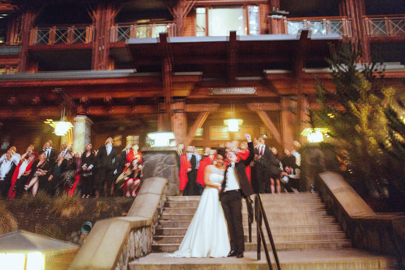 black tie wedding at nita lake lodge