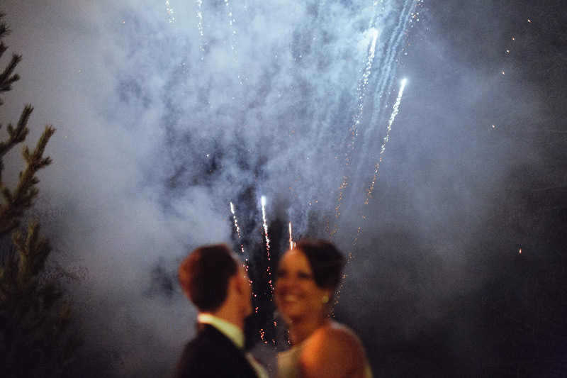 fireworks rental for whistler weddings