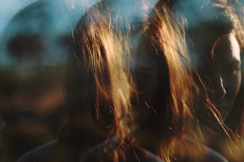 golden hour portraits using multiple in camera exposures