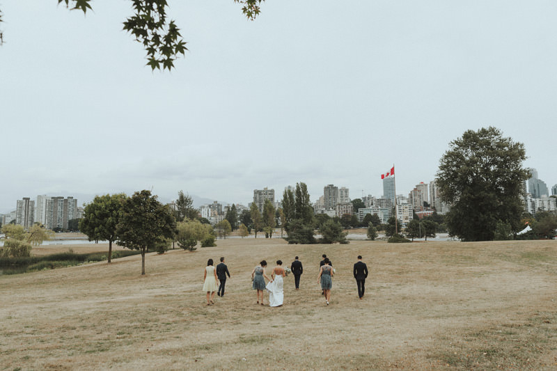 wedding photos at jericho beach vancouver