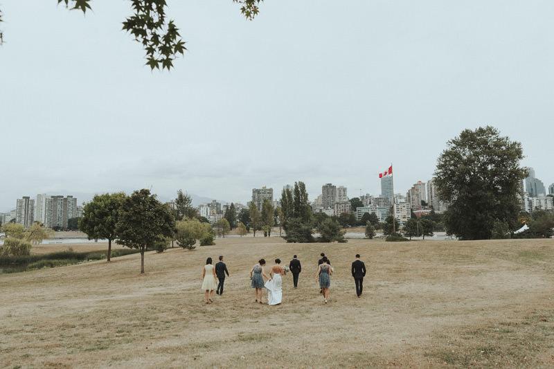 wedding photos at jericho beach vancouver