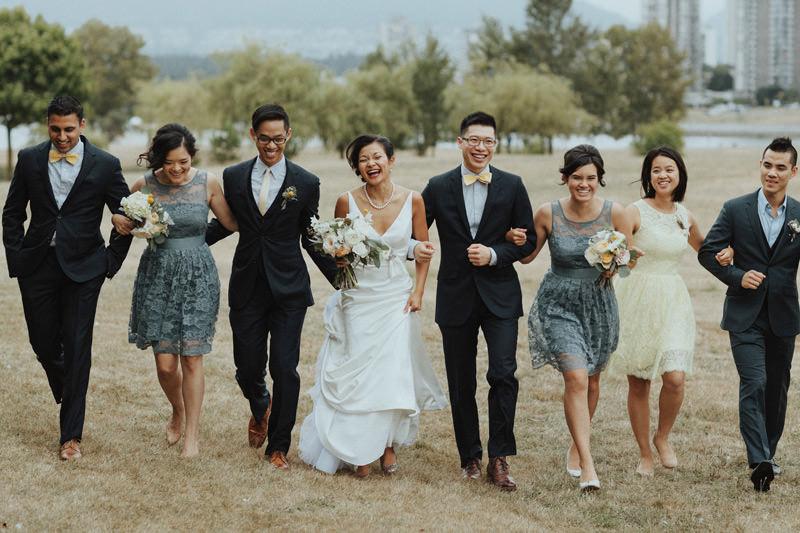 wedding photos at vanier park vancouver