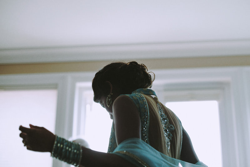 nontraditional hindu wedding photographer in vancouver