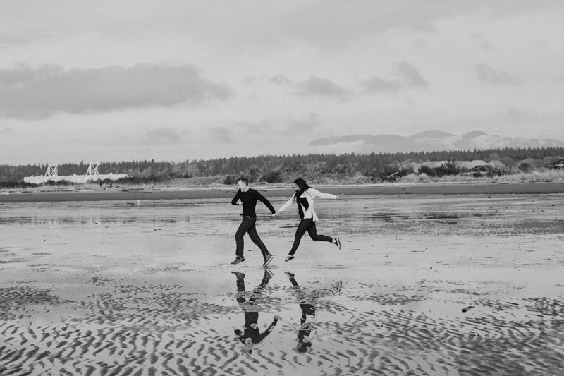 pre wedding photos in tofino