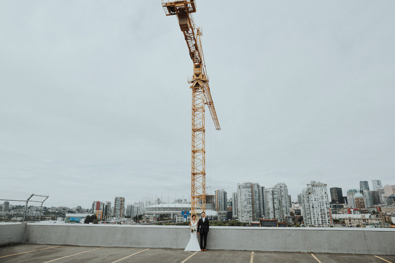 Tomasz Wagner Photographer, Rooftop Wedding Vancouver, Urban Weddings