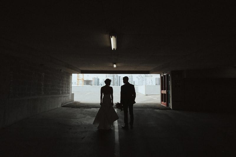 Tomasz Wagner Photographer, Rooftop Wedding Vancouver, Urban Weddings, Creative Bridal Shots