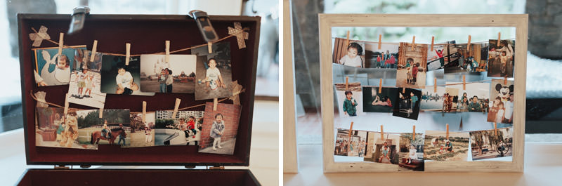 DIY Wedding Photo Frame, Cecil Green Park House Wedding