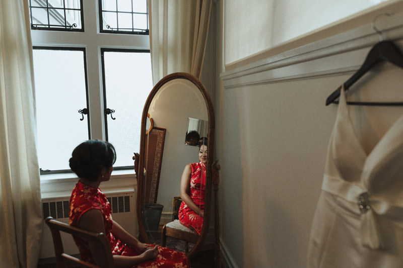 Chinese Wedding Dress, Weddings at UBC