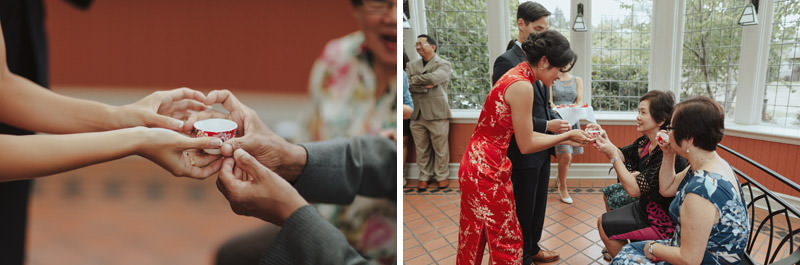 Chinese Tea Ceremony, Weddings at UBC