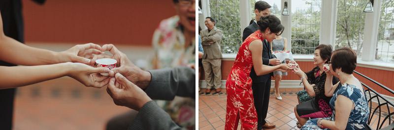 Chinese Tea Ceremony, Weddings at UBC