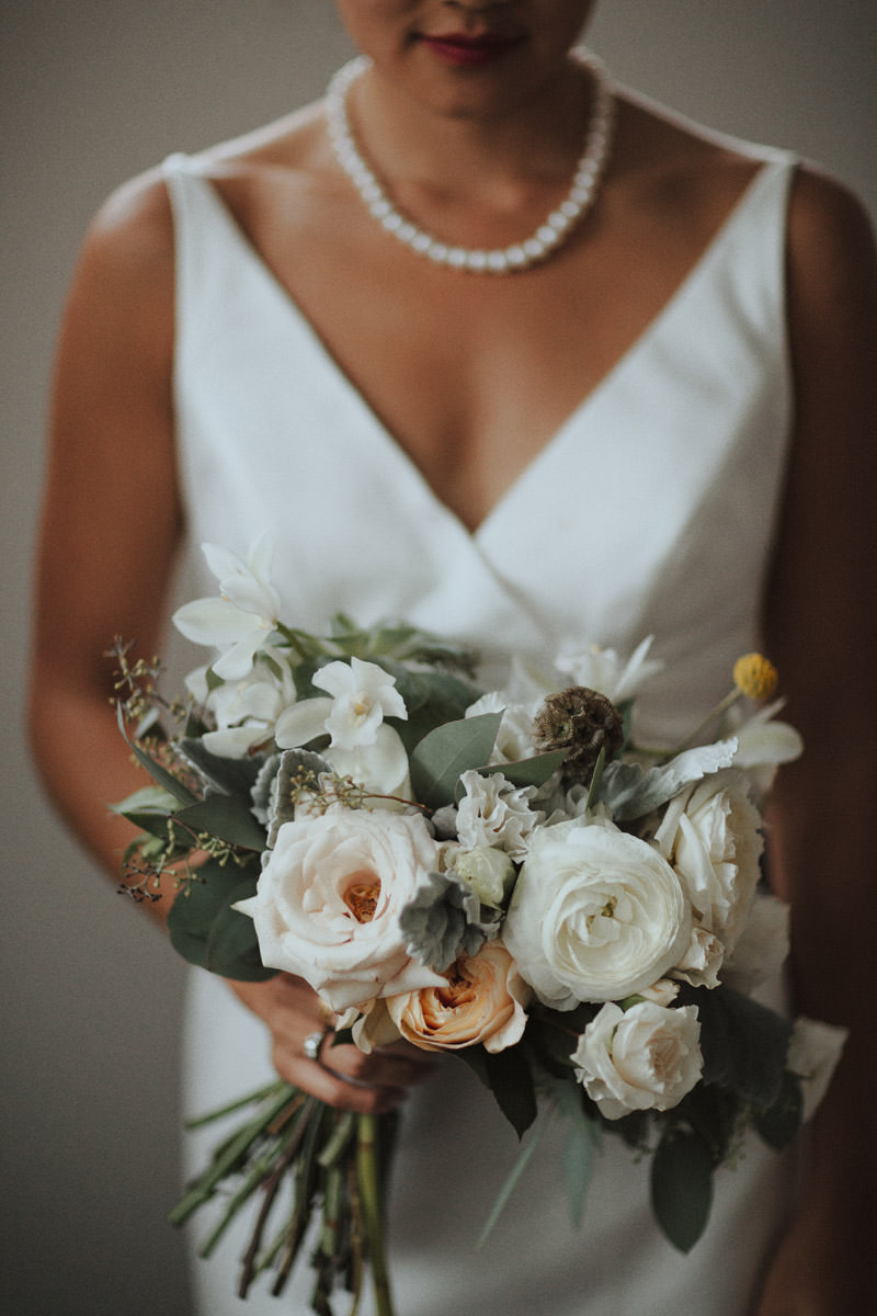 Tomasz Wagner Photographer, Celsia Floral Bouquet, Vancouver Wedding Florists, While Blush Yellow Wedding Flowers