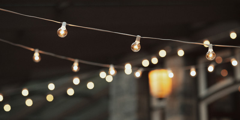 Tomasz Wagner Photographer, Wedding String Lights