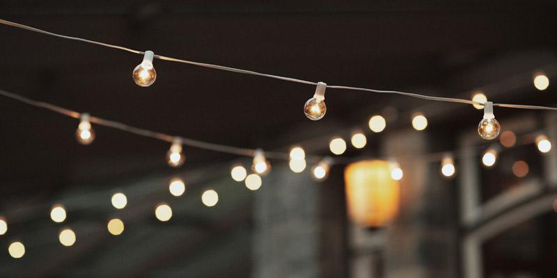 Tomasz Wagner Photographer, Wedding String Lights