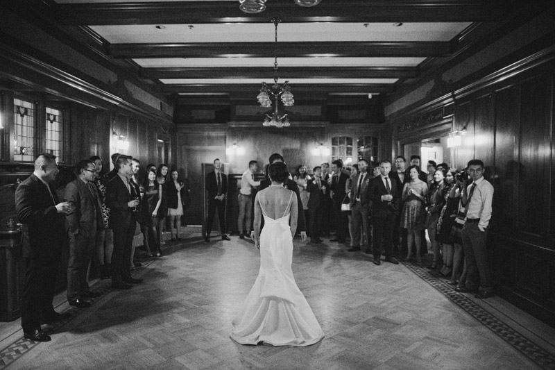 Tomasz Wagner Photographer, Weddings at Cecil Green Park House Ballroom, Creative First Dance Shots