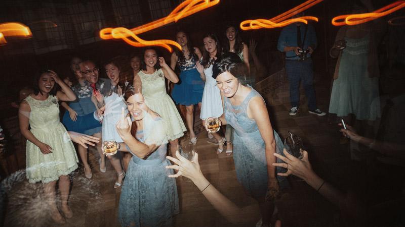 Tomasz Wagner Photographer, Weddings at Cecil Green Park House, Creative Wedding Dance Shots