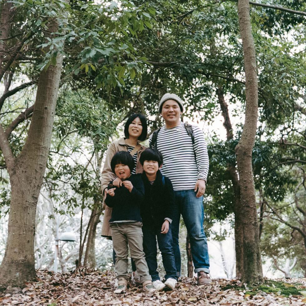 Hideaki Hamada & Family